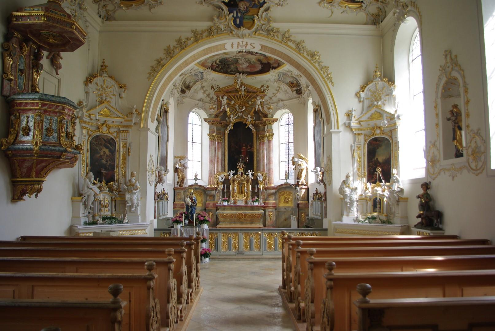 Laurentiuskirche Altar