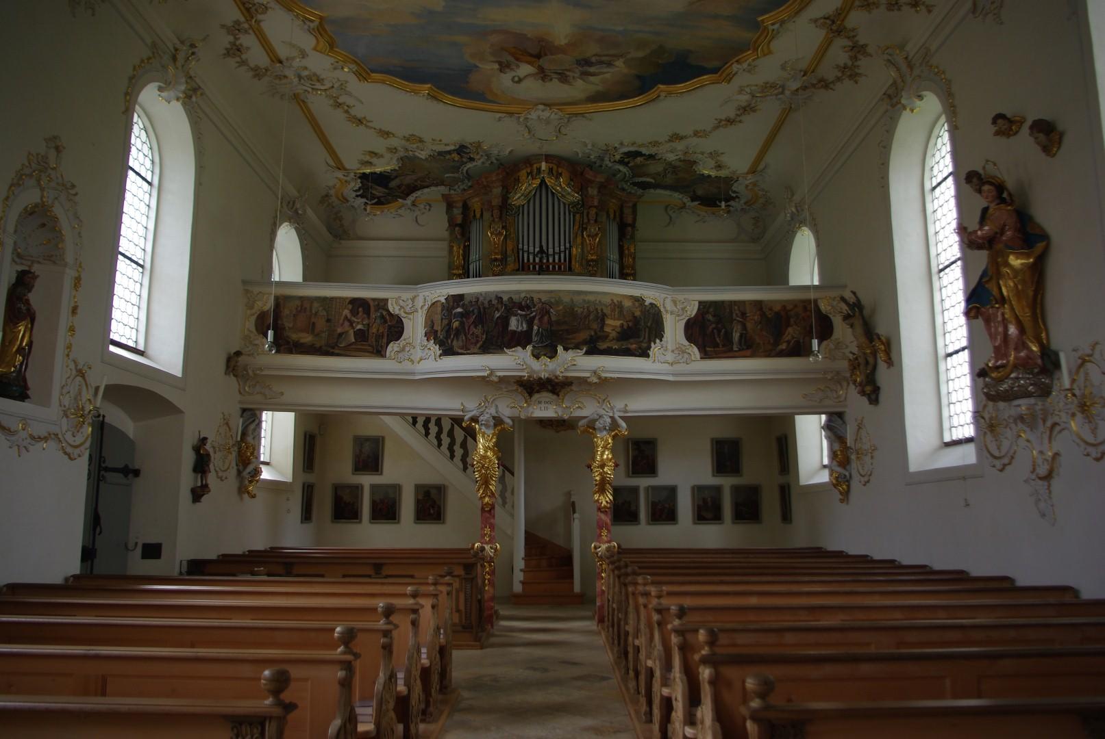 Laurentiuskirche Orgel